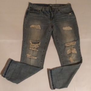 Gap Sexy Boyfriend Fit distressed jeans sz 6/28
